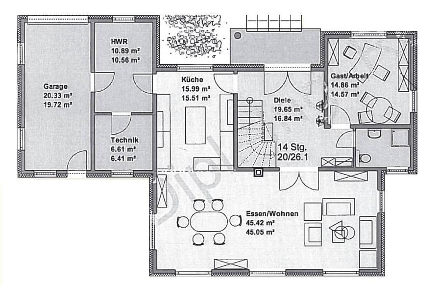 grundriss bungalow 200 qm die neuesten innenarchitekturideen. Black Bedroom Furniture Sets. Home Design Ideas
